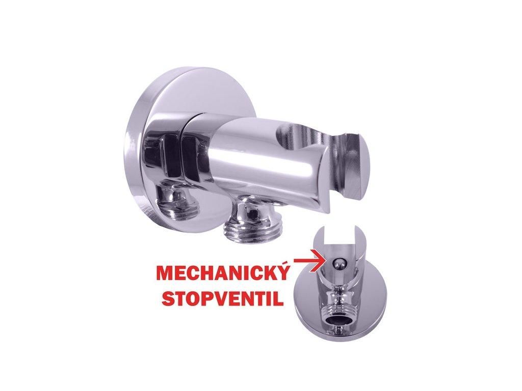Slezák RAV MD0750 Držák sprchy s integrovaným stop ventilem