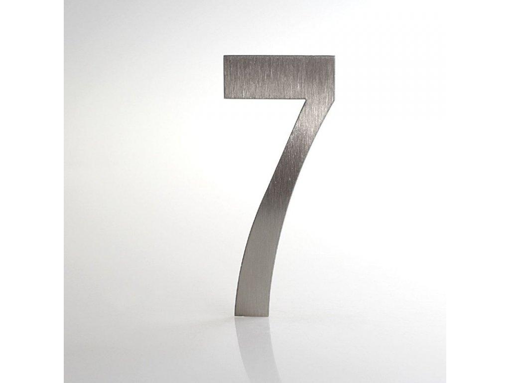 KATEON DCN2KL07 Lucida č. 7 Domovní číslo popisné, nerez