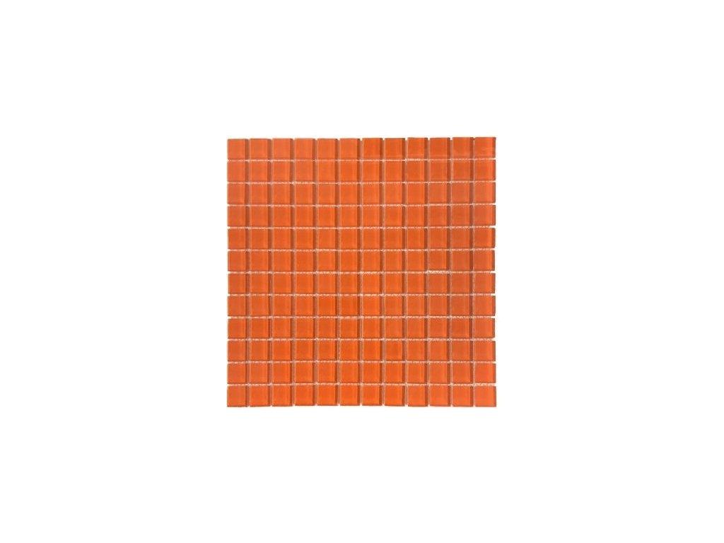 Maxwhite H11 Mozaika skleněná, světle červená 29,7 x 29,7 cm