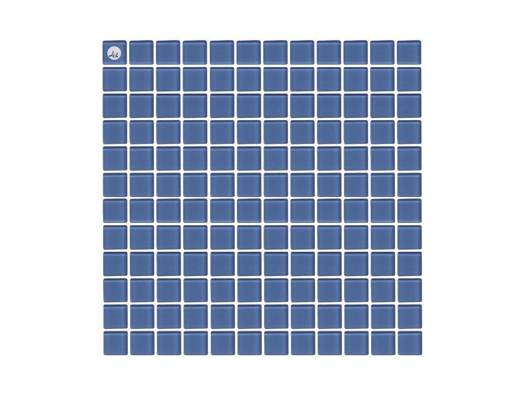 Maxwhite L13 Mozaika skleněná modrá světlá 29,7x29,7cm