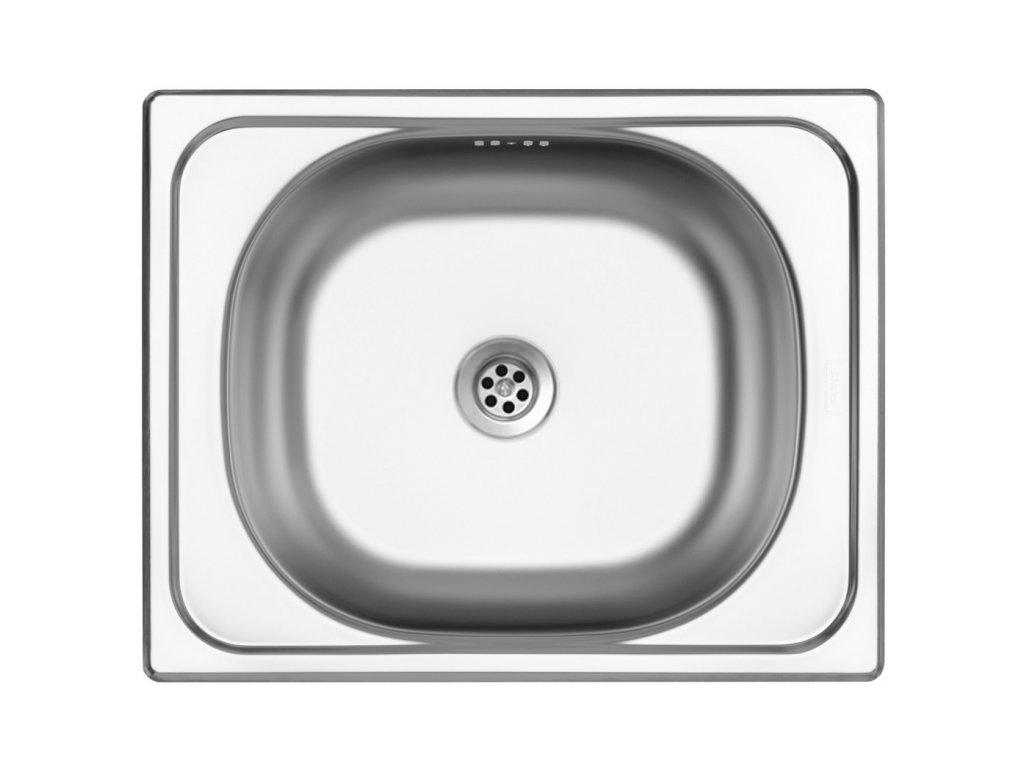 Dřez nerezový Sinks Classic 500 M 0,5mm matný II. jakost