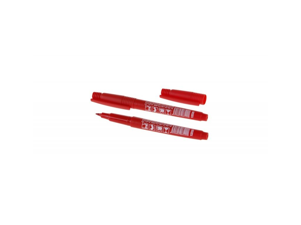 LEVIOR 13235 Permanentní značkovač s jemným hrotem červená