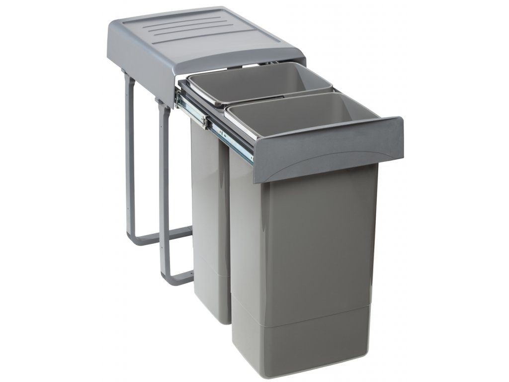 Sinks EK9007 MEGA 45 Odpadkový koš - sorter, vestavný, výsuvný 2x26 l
