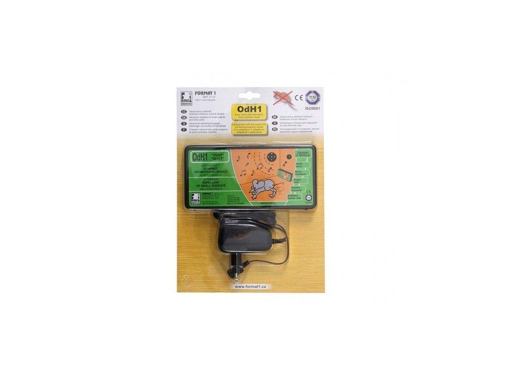 NG 49181 Odháněč kun, myší a potkanů ultrazvukový tichý s adapt