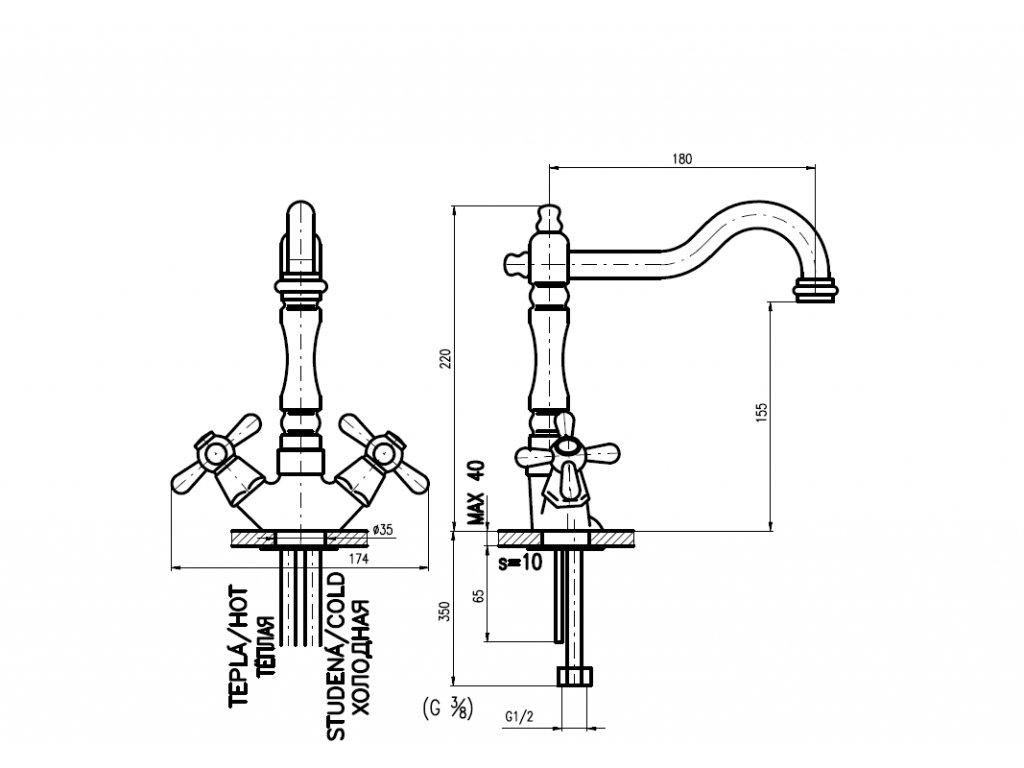 RAV Morava Retro MK120.5/9