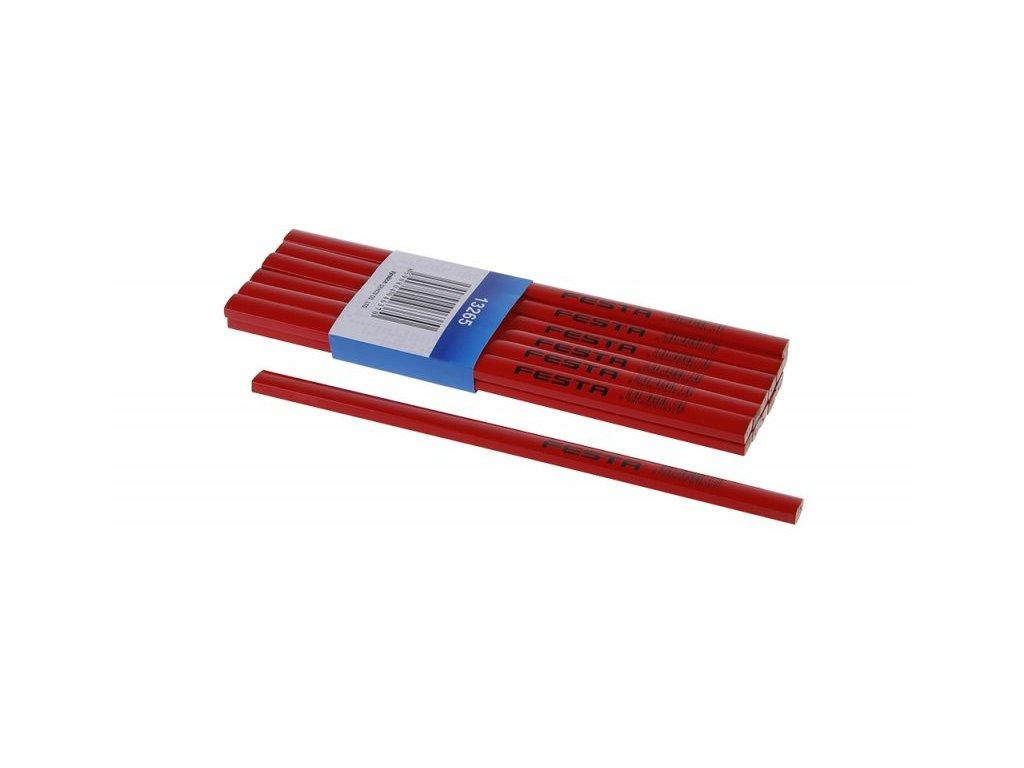 LEVIOR Tužka tesařská (červený lak) 250mm