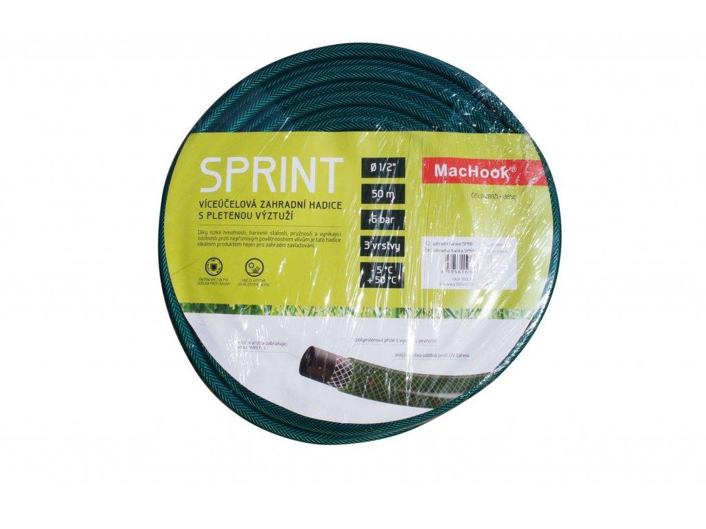 """MacHook 13862 SPRINT 3/4"""" 50 m zahradní hadice zelená"""