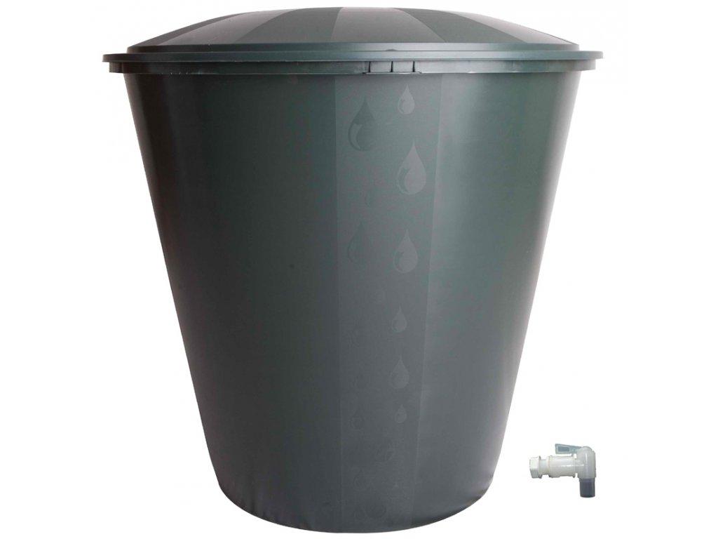Ecotank sud na dešťovou vodu 210 l s víkem a ventilem