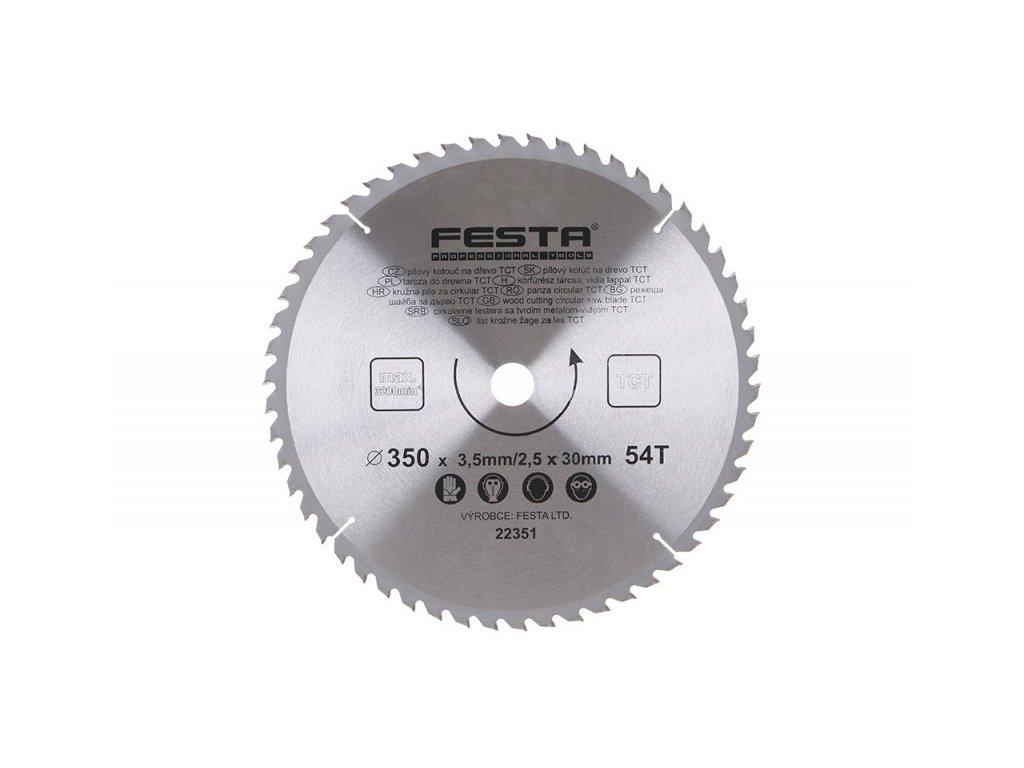 FESTA 22351 Kotouč pilový SK 350/3. 5/30/54Z