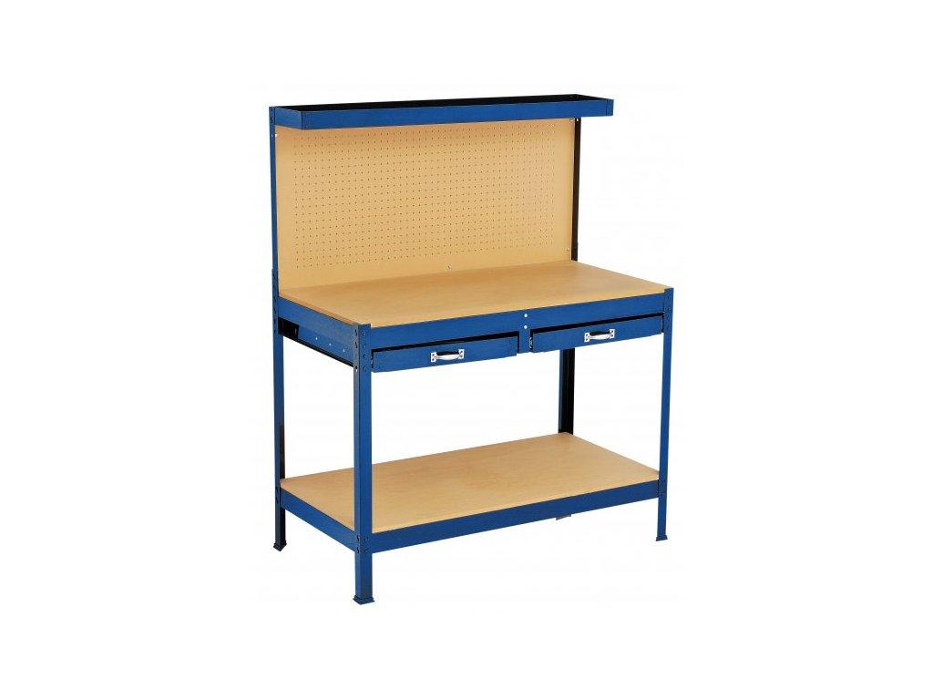 LEVIOR 23660 Stůl pracovní dílenský 150x61x121cm