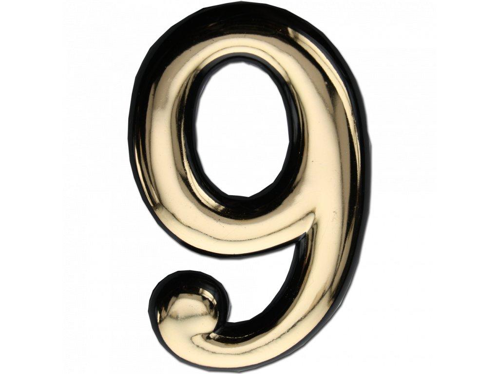 MAX 24236 č.9 Domovní číslo popisné, plast