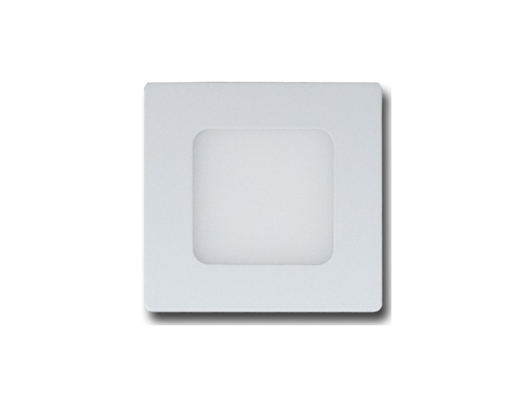 LED světlo 6W stropní 120x120mm 4000K