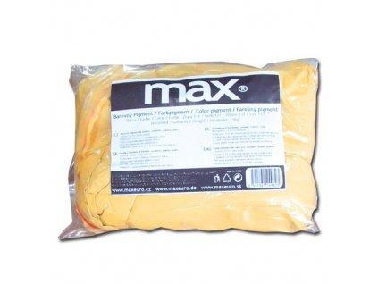 MAX Práškový pigment do betonu - žlutý