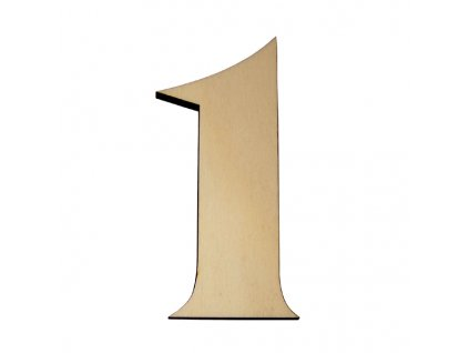 KATEON DCDPF101 France 1 Domovní číslo popisné dřevo