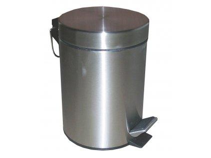 koš odpadkový 3 l nerezový