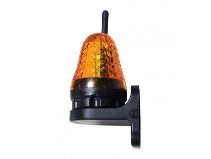 Maxeuro JD06 LED Maják výstražný s anténou 12-230V oranžový