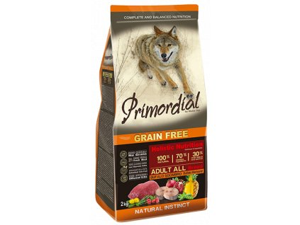 PRIMORDIAL Dog Adult Buffalo & Mackerel granule 12 kg
