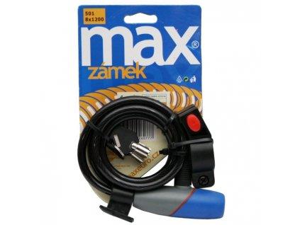 Max 501 Zámek na kolo 8x1200 mm
