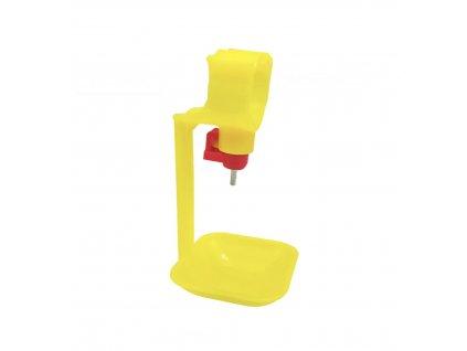 HUKA 98211 Napáječka pro kuřata, slepice, drůbež automatická plastová, žlutá