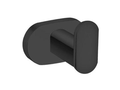 Věšáček jednoduchý Slezák RAV YUA0100CMAT černá