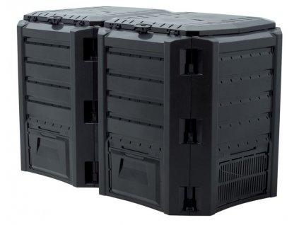Kompostér Prosperplast Compogreen IKSM800C 800 l, černý