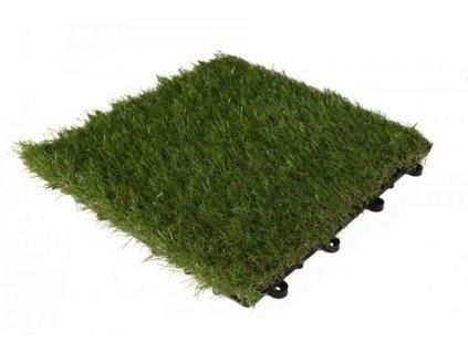YDT-30G GRASS 30x30cm dlaždice trávníková zámková