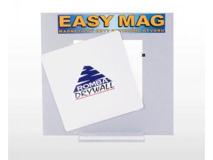 Romba Easy Mag do sádrokartonu magnetický kryt revizního otvoru 25 x 25 cm