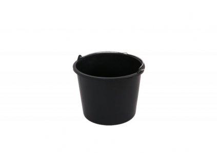 LEVIOR Vědro plastové 5l, černé