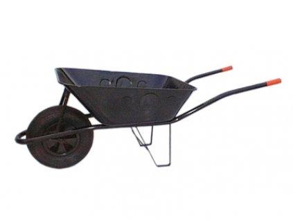 Levior Stavební kolečko 60l plechové, nafukovací kola 40mm