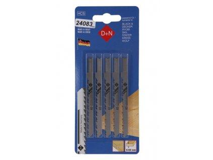D+N Přímočará pilka B&D 5ks 75mm / 1.45mm 12240