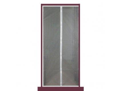 Moskytiéra do dveří 210*100CM s magnetky - bílá