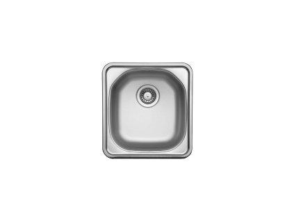 Dřez nerezový Sinks Compact 435 V 0,5mm matný II.jakost