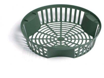 Prosperplast Košík na cibuloviny ONION lesní zelený 21,5 cm
