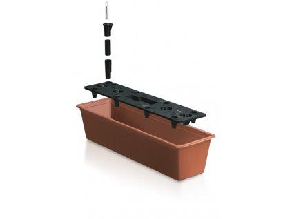 Prosperplast BALCONY CAN Truhlík 60 cm + zavlažovací systém