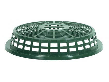 Víko CAGE na zahradní koš tm.zelené 46,5cm