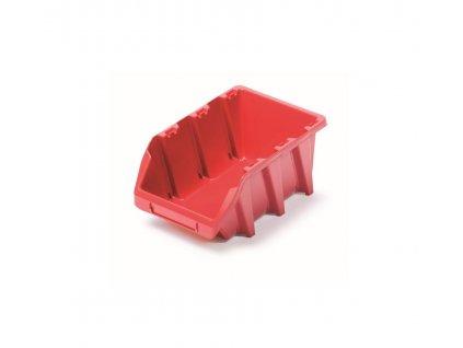 Prosperplast BINEER LONG NPNL8 Plastový úložný box 198x118x84, červený
