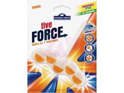 GF Five Force WC blistr závěs Meloun 50 g