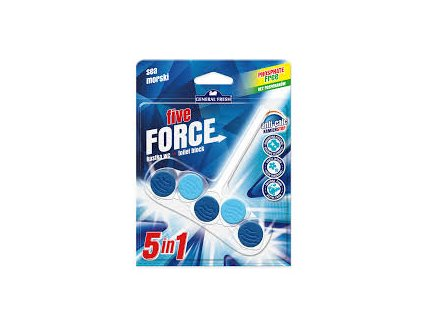 GF Five Force WC blistr závěs Ocean 50 g