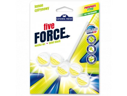 GF Five Force WC blistr závěs Citron 50 g