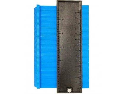 HUKA 5i-EM Obrysová šablona 3D, modrá