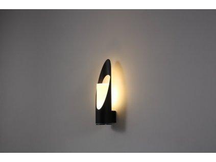 LED Světlo nástěnné černé, 105x79x330mm - LWA311
