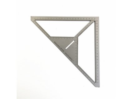 HUKA HK-25253 pravítko trojúhelník na odtok v dlažbě