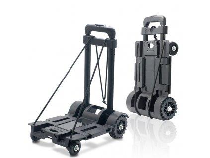HUKA FT18 skládací vozík přenosný na 50 kg, 36x35x99cm