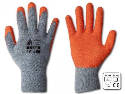 Latexové ochranné rukavice HUZAR CLASSIC PLUS vel. 11