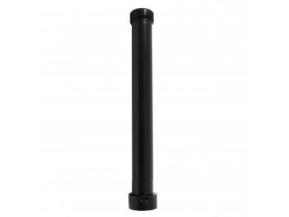 Slezák Rav Prodloužení k tyči ke sprchovému kompletu - černá matná MD0685CMAT 50 cm