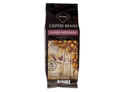 Rioba Indonesia 100% Arabica zrnková káva 500g