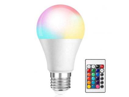 HUKA HK-30456 žárovka RGB s dálkovým ovladačem E26/E27 7W 2700-6500K