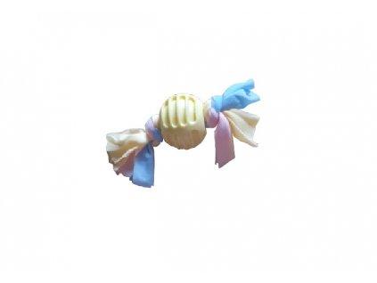 HUKA 2952284ž hračka pro psa - bonbón žlutá 18 cm