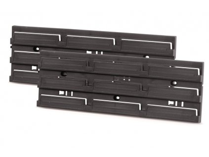 Prosperplast KBBS4013-S411 Montážní panel BINEER BOARD 386x18x130 černý, 2 ks