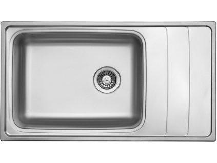 Dřez nerezový Sinks Wave 915 V 0,8mm leštěný
